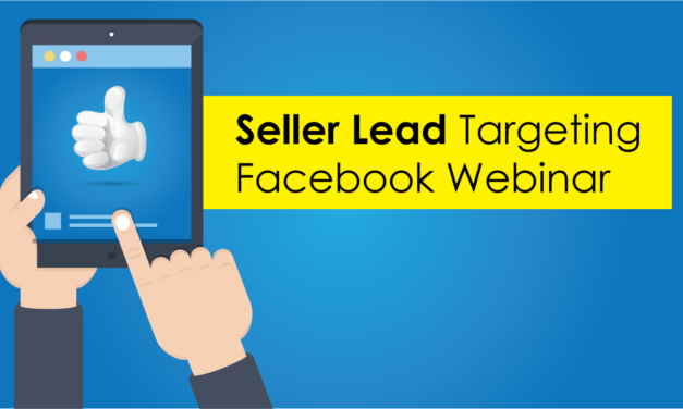 Webinar: Facebook marketing for seller leads and open houses!
