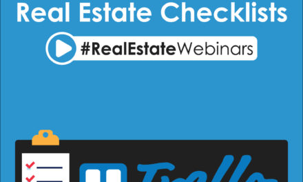 Real Estate Checklists and Trello for agents