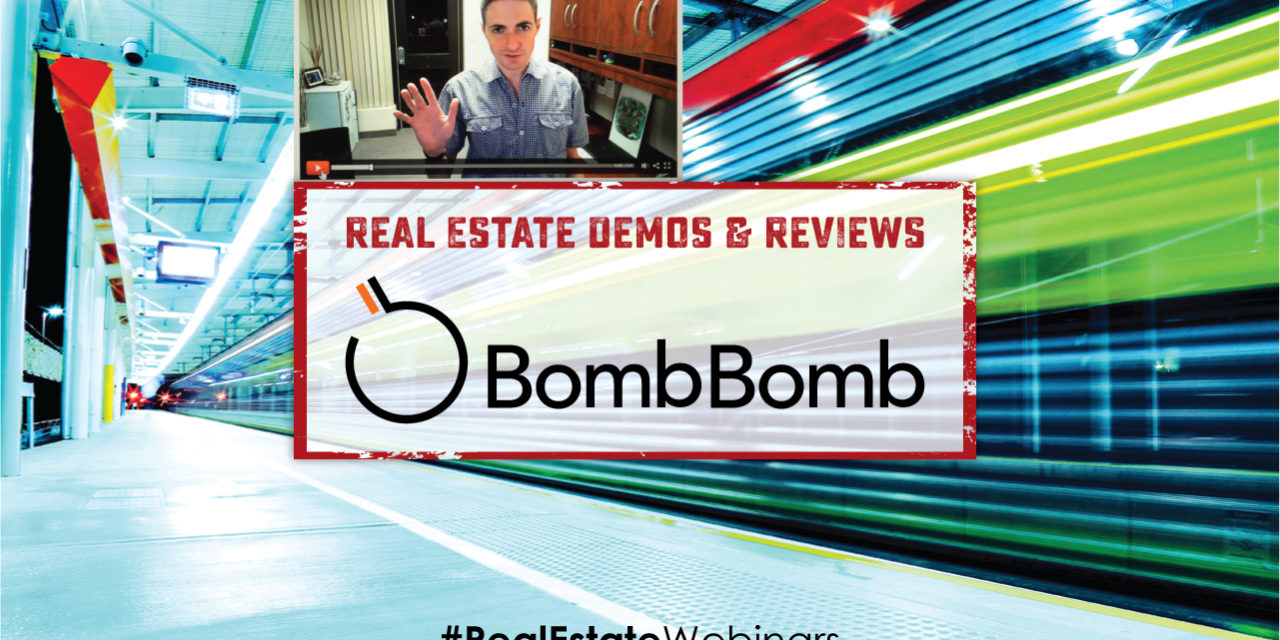 BombBomb Demo and Real Estate Review