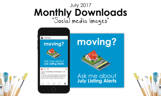 Free monthly downloads: July Social Media Images